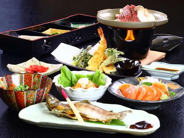 【旅の宿 大石屋】地元産×季節食材×奈川在来の手打ち蕎麦は格別!温泉と料理の宿