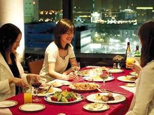 綺麗な夜景と美味しい料理で素敵な夜を満喫♪