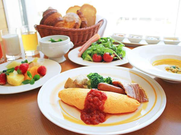 ブッフェレストラン「ブリッジ」朝食ブッフェ