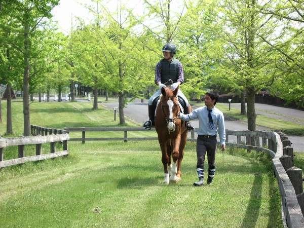 乗馬体験もお楽しみいただけます※要予約有料