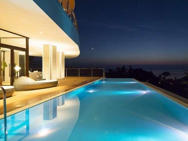 【天草・天空の船】客室露天風呂とイタリアンを堪能できるリゾートホテル