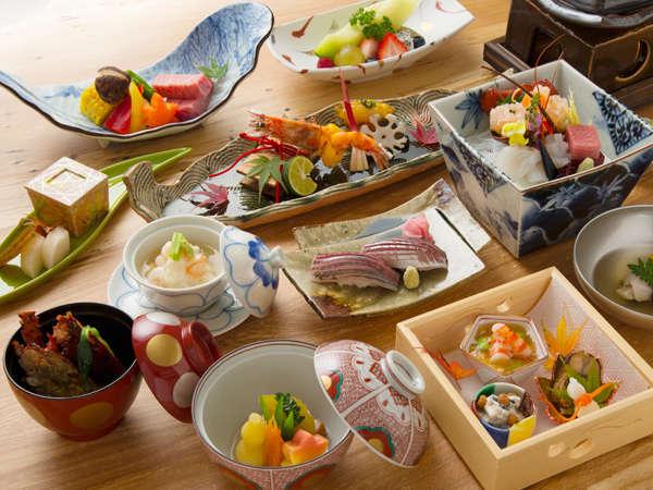 【京会席イメージ】強羅花扇グループの総料理長による月替わり会席料理