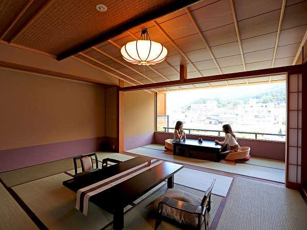 【お部屋の特徴】広々とした和室で贅沢なひとときをお過ごしくださいませ。