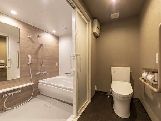 【デラックスクイーン◆25㎡】トイレ&バスルーム