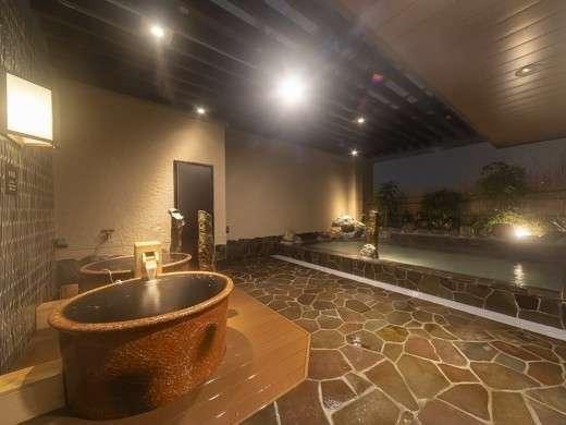 【大浴場◆露天風呂◆壺風呂】