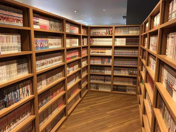 【漫画コーナー】約4,000冊の漫画が読み放題!