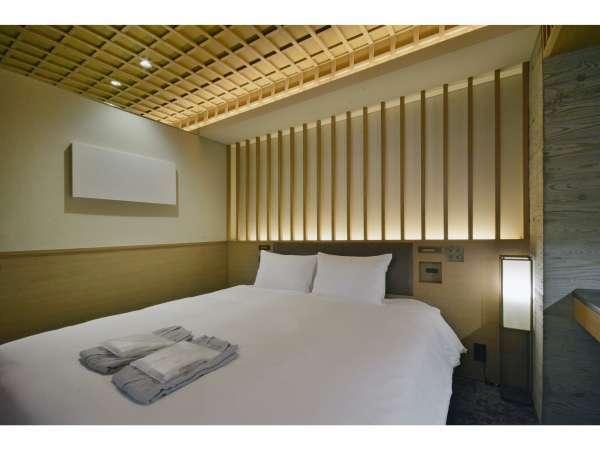 【客室】ダブルルーム/禁煙/140cm幅ベッド×1台/10平米