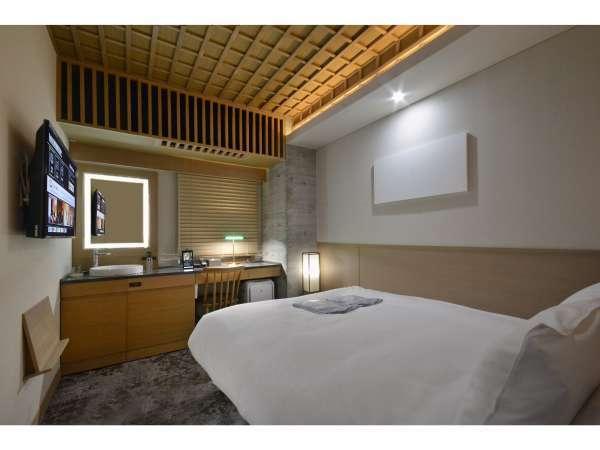 【客室】シングルルーム/禁煙/140cm幅ベッド×1台/10平米