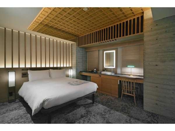 【客室】ユニバーサルダブルルーム/禁煙/140cm幅ベッド×1台/18平米