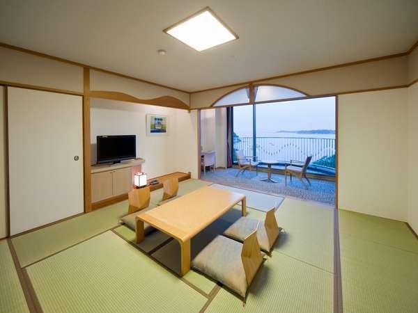 【海側】和室12畳 50m2 定員6名 ◇禁煙◇