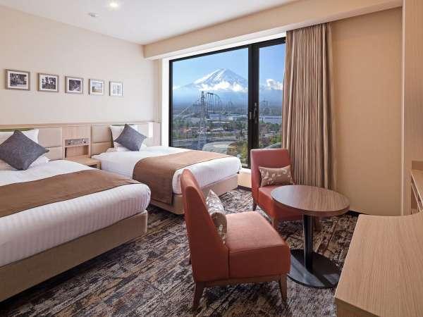スタンダードツイン 富士山ビュー