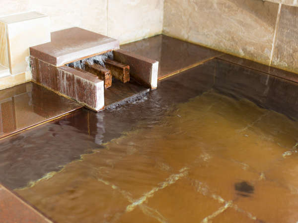■「阿多美(あたみ)の湯」温泉成分が濃い塩化物泉
