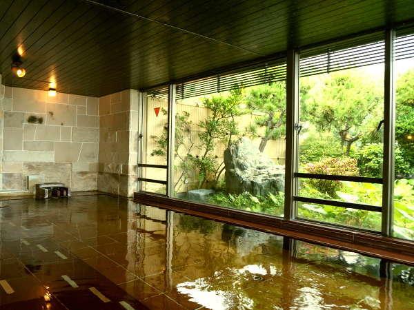 ■「阿多美(あたみ)の湯」清潔感と開放感があふれる湯殿でごゆっくり