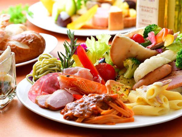 豊富な食材が、朝食を彩ります。