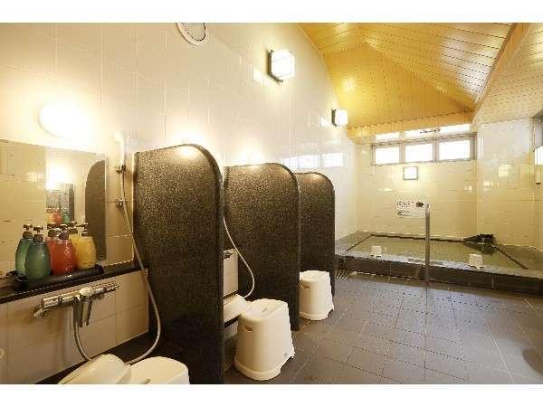 女性大浴場:浴室