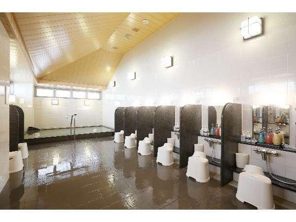 男性大浴場:浴室