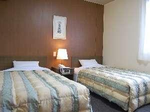 落ち着いた空間のお部屋。※全室無線LAN完備。