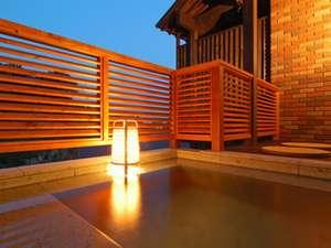 お部屋専用の露天風呂一例