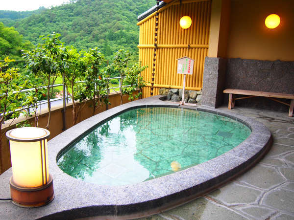【潮原温泉 松かわ】【飲める温泉】展望露天のある7種の風呂◆温泉内風呂付き客室あり