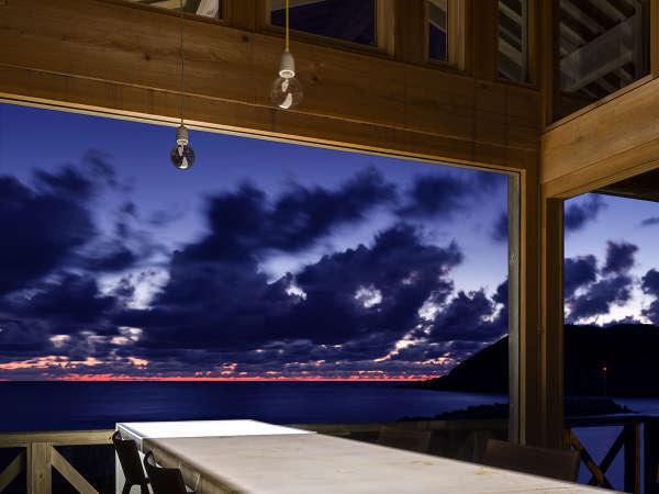 【内湯の宿 おおとく】黄昏~夕日~満天の星空 幻想的な雄島を感じながらの贅沢空間旅