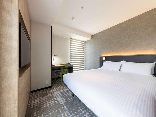 【客室】スーペリシングル/シャワー・部屋広さ…16㎡・宿泊人数…1~2名・ベッド幅…140cm
