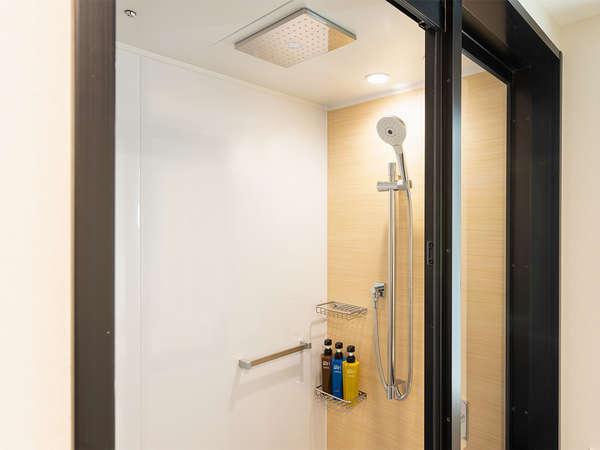 【風呂】スーペリシングル/シャワー・バスタブがなくシャワールームとなっております。