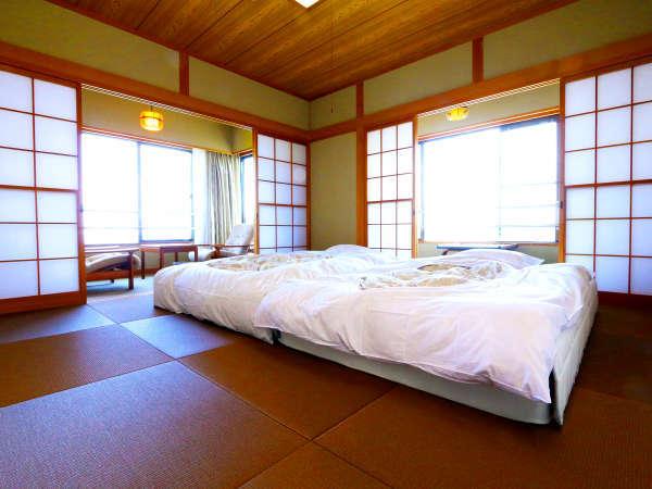 ★3階特別室★琉球畳+和ベッド仕様の海に面した角部屋です