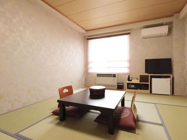 *[和室8畳一例]シンプルな和室8畳の客室