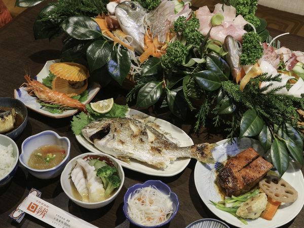 *【お料理】夕食一例~季節・仕入れにより内容が変わります。