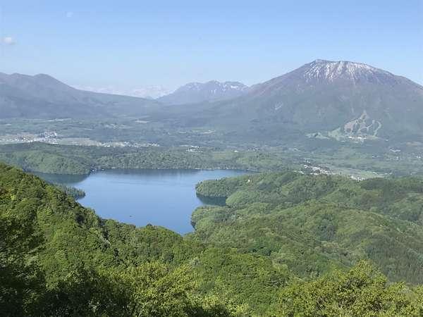 野尻湖テラスからの絶景