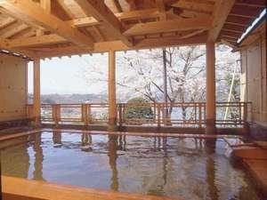 胞山の湯 露天風呂