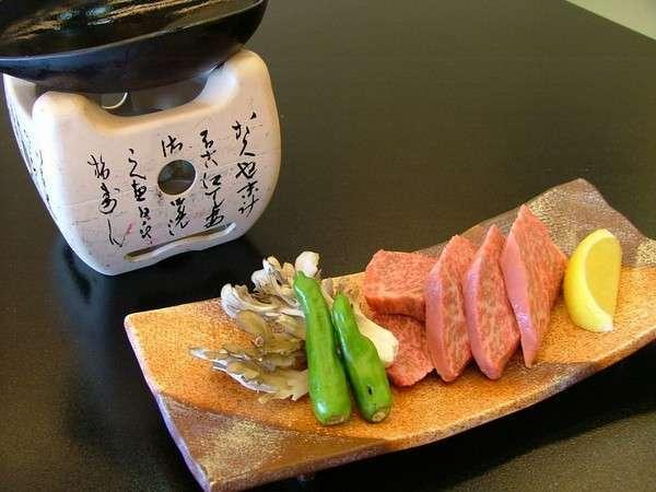 A5等級飛騨牛鉄板焼き(イメージ)