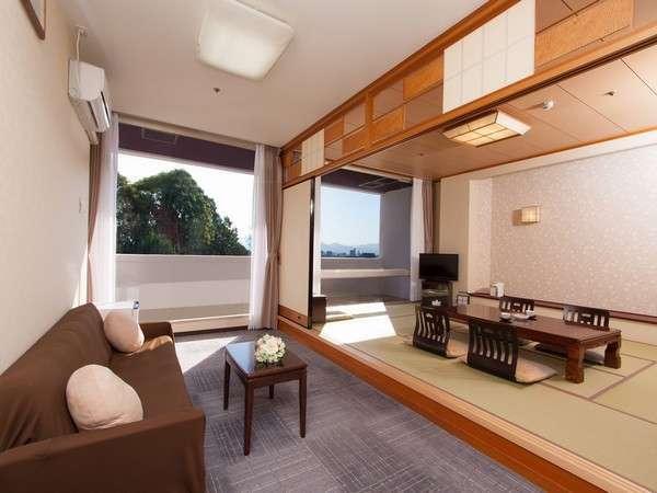 【和室10畳 前室ソファールーム付 バス無】2017年2月リニューアル済