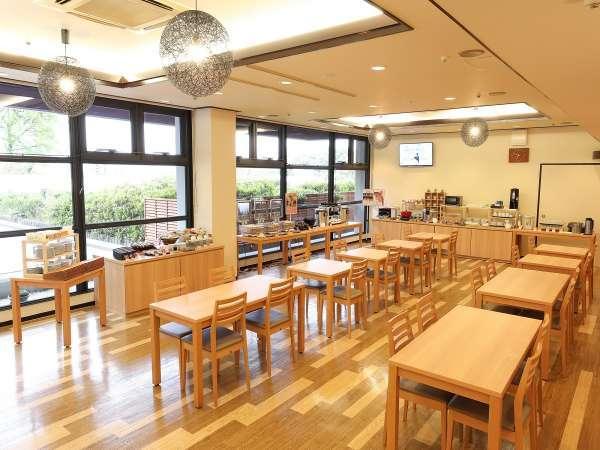 【朝食会場イメージ】2019年4月リニューアルオープン☆食事会場&メニューを一新しました