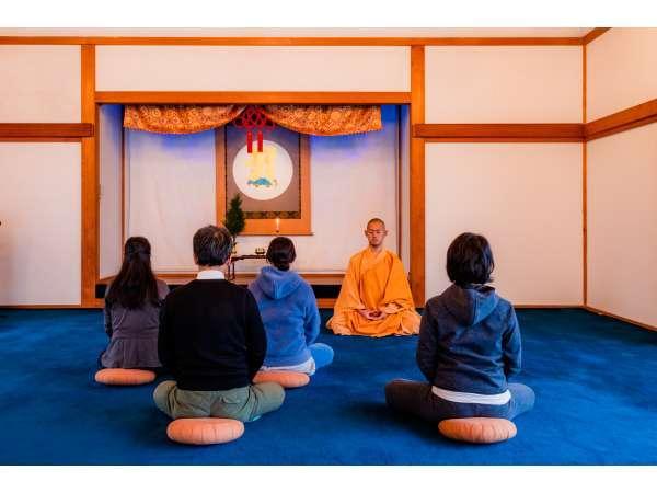阿字観瞑想体験 毎日行っております