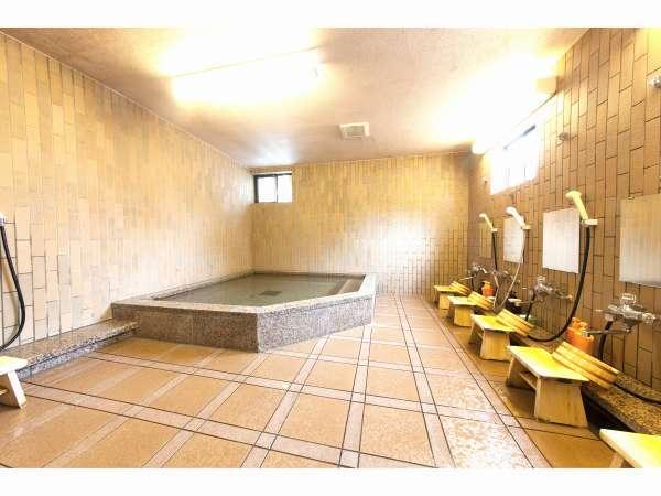 大浴場 女性用(山から湧き出る天然水使用)