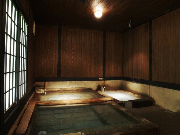【大浴場(切石湯)】弱酸性の名湯に浸かり癒しのひと時を