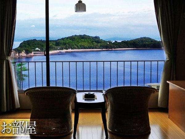 ★大切なひとと特別な日に海側眺望お部屋でお寛ぎいただきます煌きの憩いのひと時をお過ごしくださいませ
