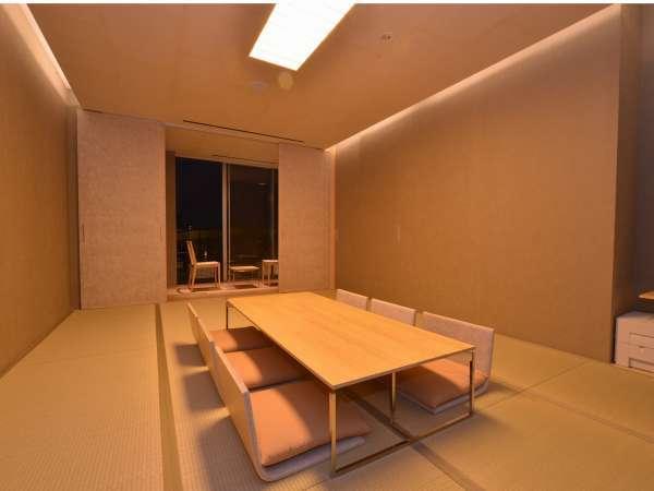【和室・40平米】畳の香りを感じながらリラックスステイできるお部屋