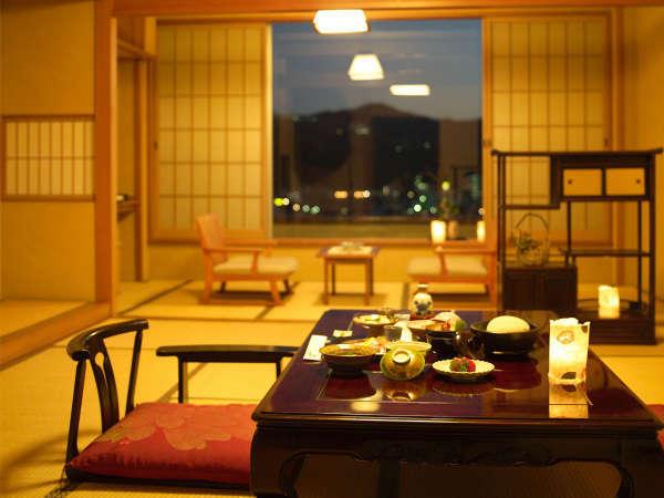【千寿】ハイグレード和室 木の香り漂う客室(40インチ液晶テレビ・加湿空気清浄機完備)