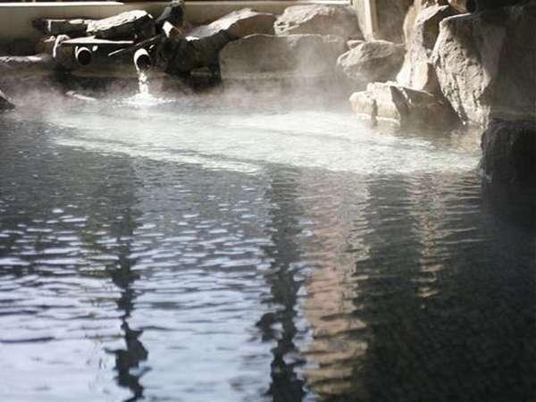 名泉と呼ばれている【薩摩の里】の大岩風呂