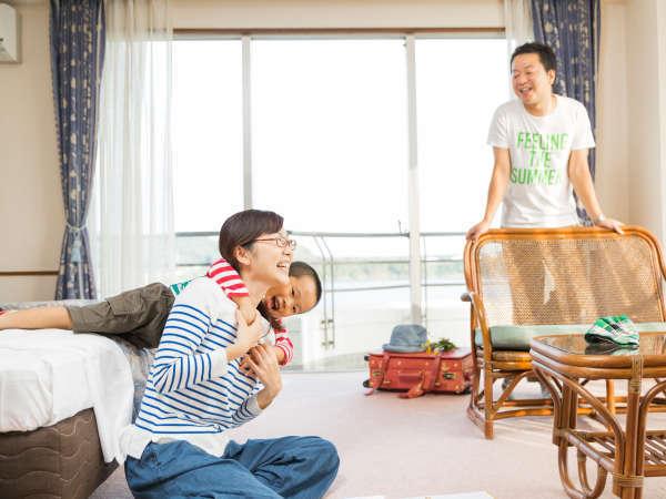 ★ご家族旅行や赤ちゃん連れファミリーなど幅広い世代に使いやすい和洋室