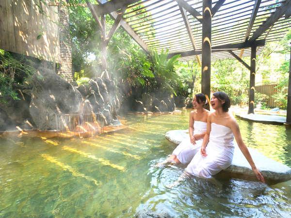 別府最大級の露天風呂 「鬼山の湯」 (イメージ画像)