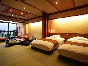 ◆準特室-高千穂-◆車椅子でもご利用頂ける畳を使用しております。