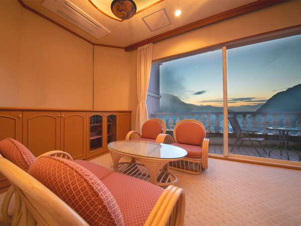 ■最上階 特別室■和室からも洋室からも、どのお部屋からでも景観をお楽しみください