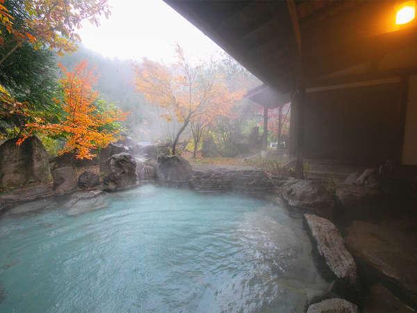 【貸切風呂~木もれびの湯~】露天風呂を独り占め!サラサラでしっとりとしたお肌に優しい泉質を楽しむ♪