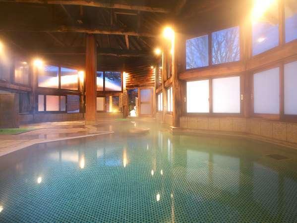 ゆっくり草津の温泉が満喫できる大浴場