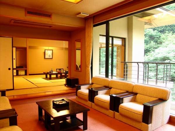 【新館 湯乃庄】和室15帖+大きな広縁。限定2部屋です。