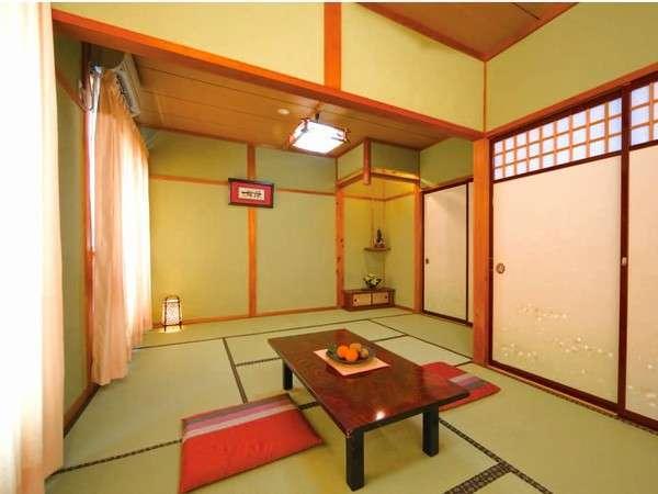 【客室一例】懐かしい和室で、手足を伸ばしてゆっくりとおくつろぎ下さい。6~22畳。お隣も近いです♪