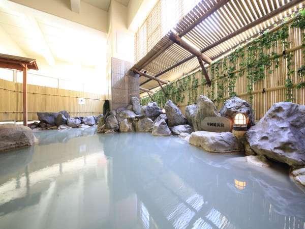 1.地下1階露天風呂(単純硫黄泉)